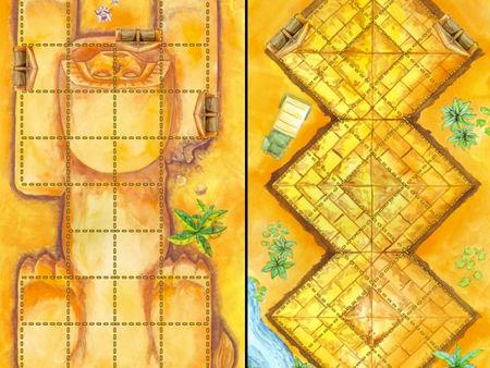 Das Labyrinth des Pharao: Sphinx und Triamide