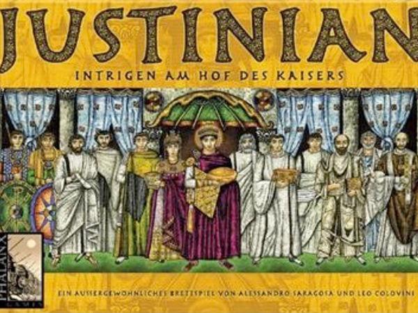 Bild zu Alle Brettspiele-Spiel Justinian