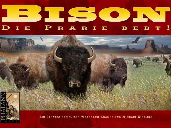 Bild zu Alle Brettspiele-Spiel Bison: Die Prärie bebt!