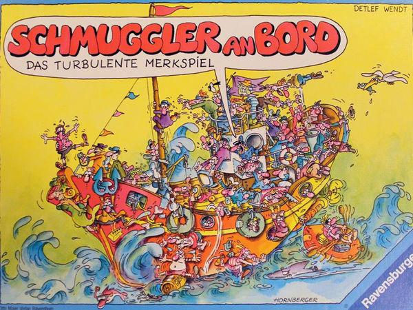 Bild zu Alle Brettspiele-Spiel Schmuggler an Bord