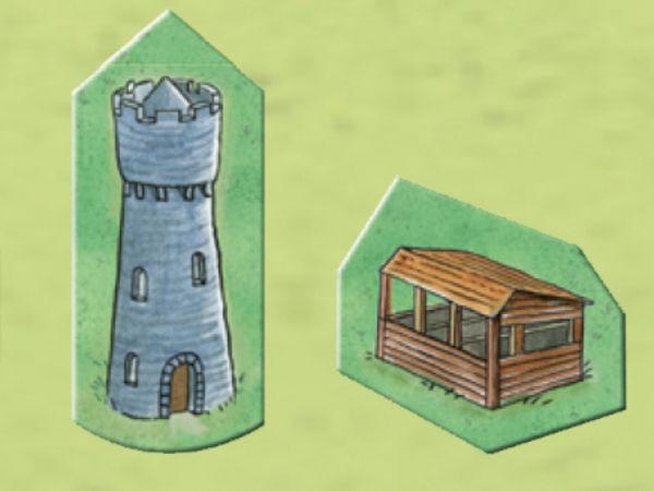Bild zu Alle Brettspiele-Spiel Carcassonne: Die Häuser