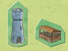 Carcassonne: Die Häuser