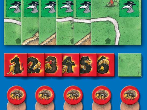 Bild zu Alle Brettspiele-Spiel Carcassonne: Die Pest