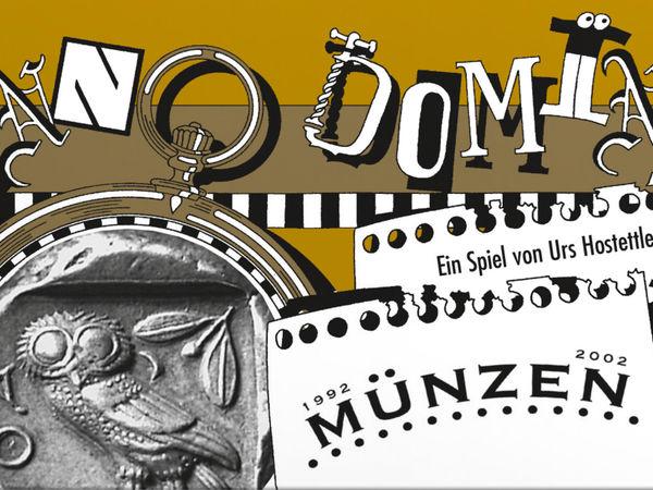 Bild zu Alle Brettspiele-Spiel Anno Domini - Münzen