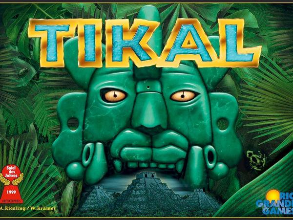 Bild zu Alle Brettspiele-Spiel Tikal