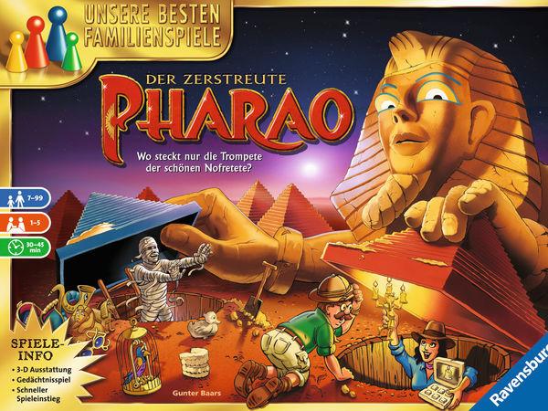 Bild zu Alle Brettspiele-Spiel Der zerstreute Pharao
