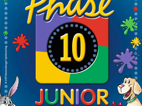 Bild zu Alle Brettspiele-Spiel Phase 10 Junior