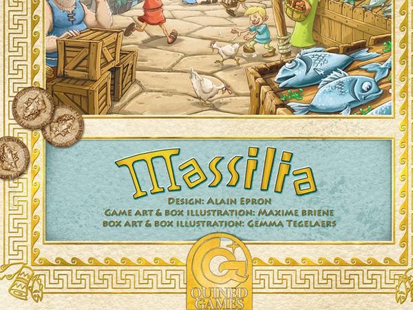 Bild zu Alle Brettspiele-Spiel Massilia