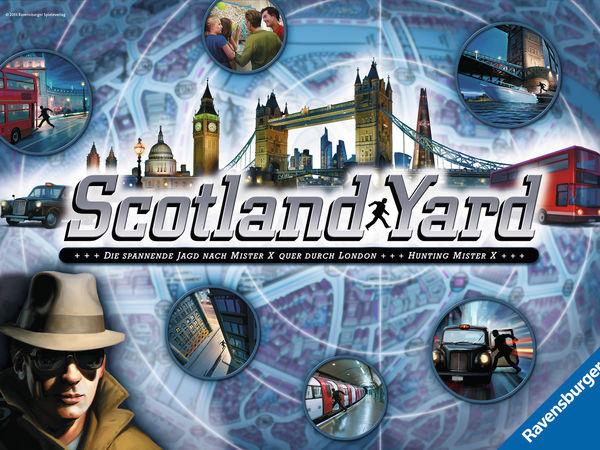 Bild zu Alle Brettspiele-Spiel Scotland Yard
