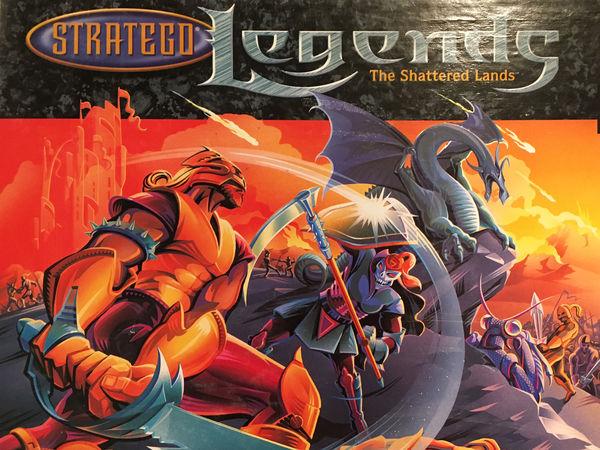 Bild zu Alle Brettspiele-Spiel Stratego Legends: Das bedrohte Land