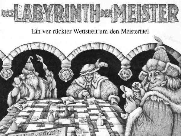 Bild zu Alle Brettspiele-Spiel Das Labyrinth der Meister