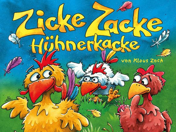 Bild zu Alle Brettspiele-Spiel Zicke Zacke Hühnerkacke