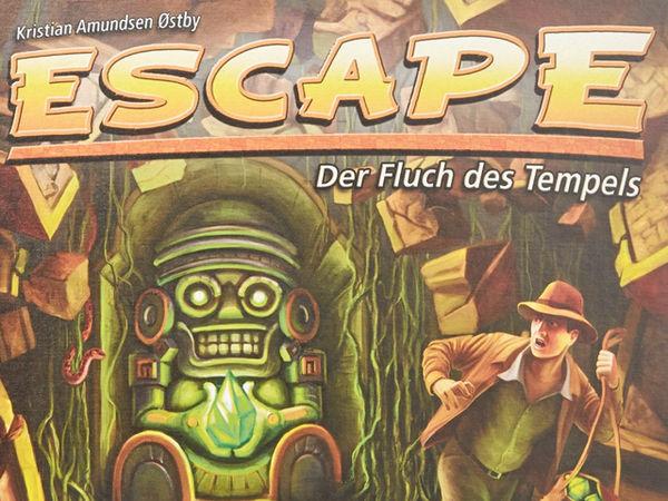 Bild zu Alle Brettspiele-Spiel Escape: Der Fluch des Tempels