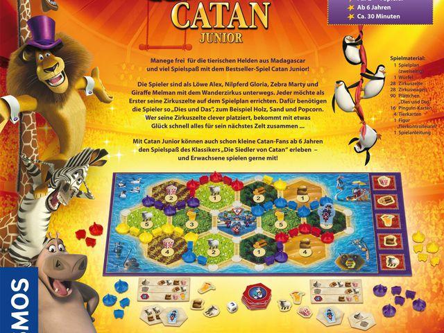 Madagascar Catan Junior Bild 1