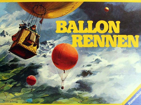 Bild zu Alle Brettspiele-Spiel Ballonrennen