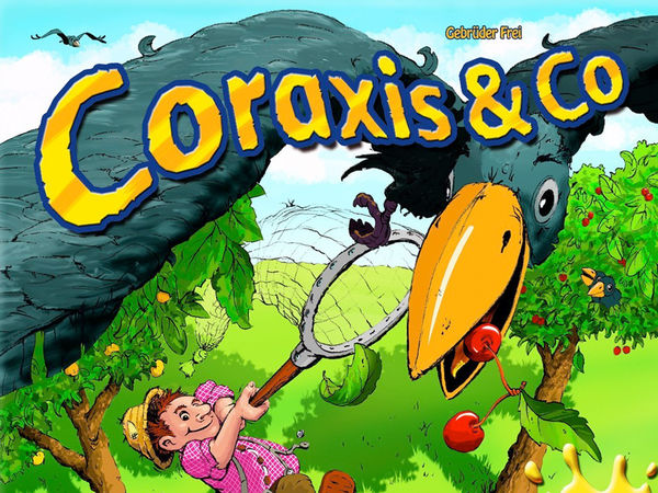 Bild zu Alle Brettspiele-Spiel Coraxis & Co