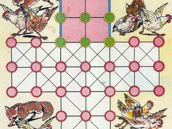 Bild zu Alle Brettspiele-Spiel Fuchs und Gans