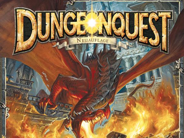 Bild zu Alle Brettspiele-Spiel Dungeonquest - Neuauflage
