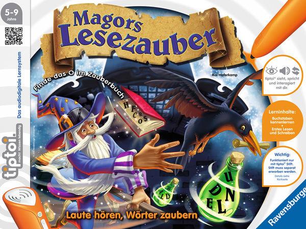 Bild zu Alle Brettspiele-Spiel Magors Lesezauber
