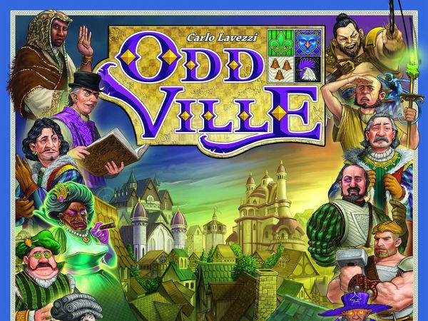 Bild zu Alle Brettspiele-Spiel OddVille