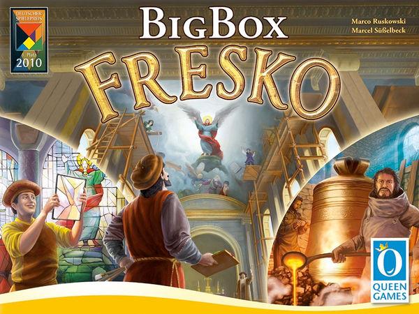 Bild zu Alle Brettspiele-Spiel Fresko: Big Box