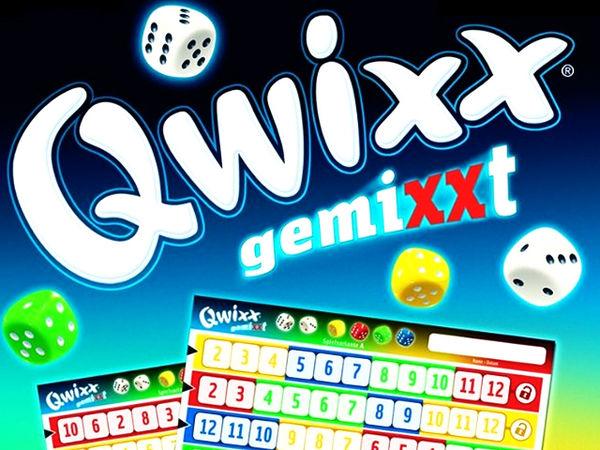 Bild zu Alle Brettspiele-Spiel Qwixx gemixxt