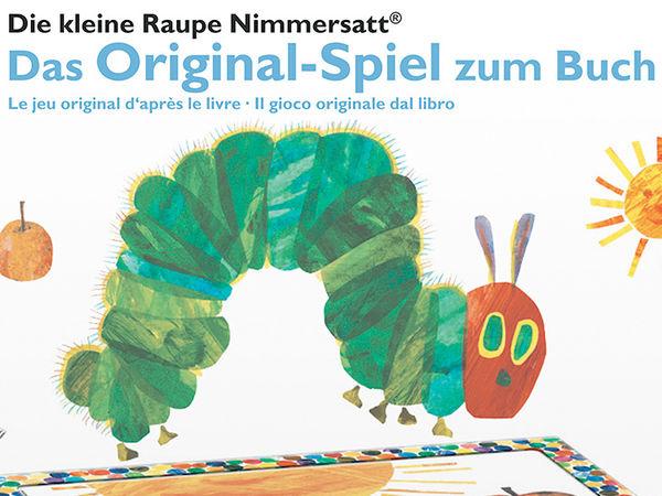 Bild zu Alle Brettspiele-Spiel Die kleine Raupe Nimmersatt: Das Spiel zum Buch
