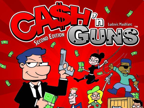 Bild zu Alle Brettspiele-Spiel Cash & Guns: Zweite Edition