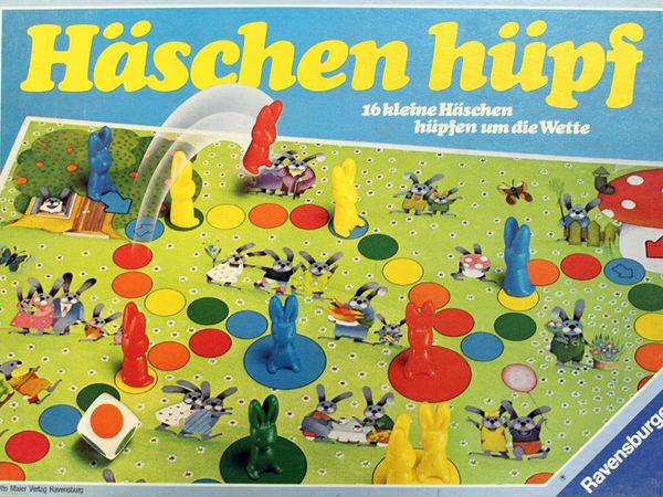 Bild zu Alle Brettspiele-Spiel Häschen hüpf