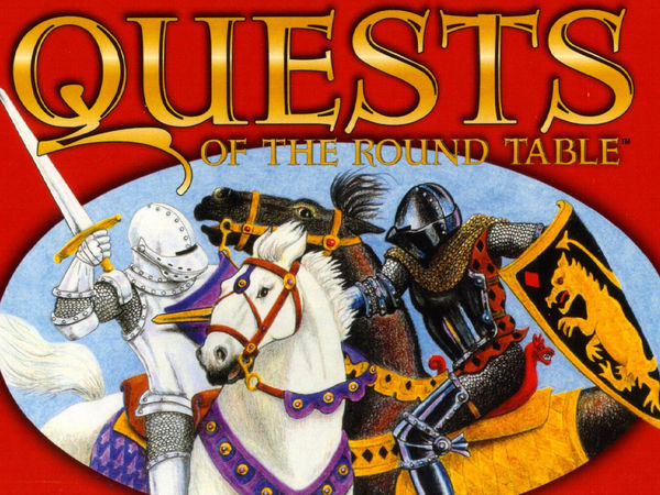 Bild zu Alle Brettspiele-Spiel Quests of the Round Table