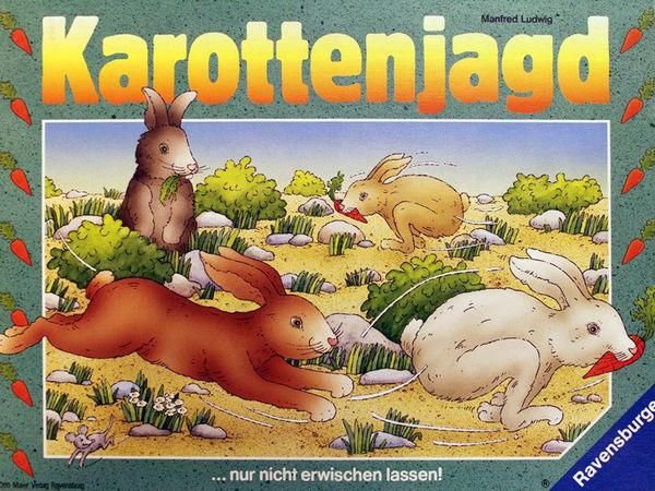 Bild zu Alle Brettspiele-Spiel Karottenjagd