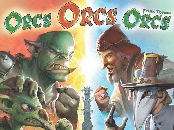 Bild zu Alle Brettspiele-Spiel Orcs Orcs Orcs