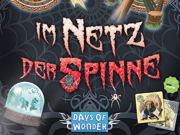 Bild zu Alle Brettspiele-Spiel Small World: Im Netz der Spinne