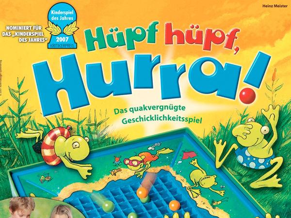 Bild zu Alle Brettspiele-Spiel Hüpf hüpf, Hurra!