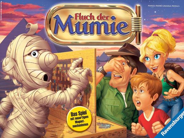 Bild zu Alle Brettspiele-Spiel Fluch der Mumie