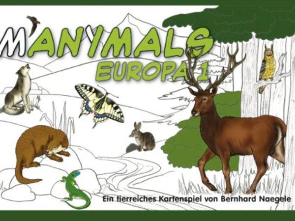 Bild zu Alle Brettspiele-Spiel Manimals: Europa