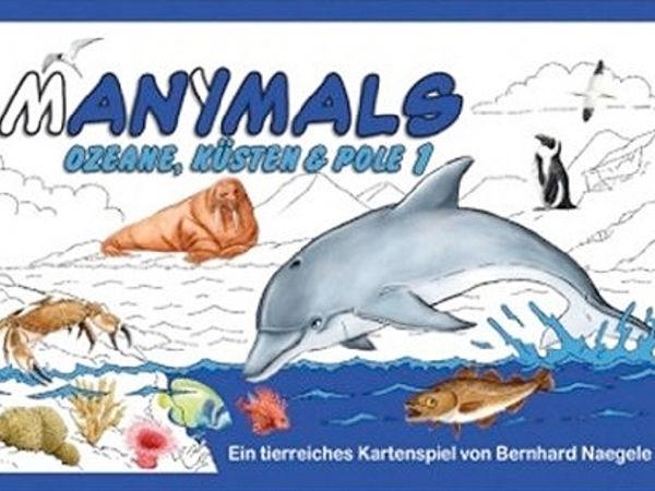 Bild zu Alle Brettspiele-Spiel Manimals: Ozeane, Küsten & Pole