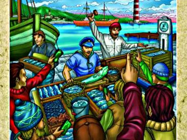 Bild zu Alle Brettspiele-Spiel Fischmarkt