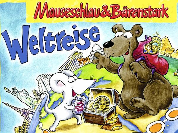 Bild zu Alle Brettspiele-Spiel Mauseschlau & Bärenstark - Weltreise