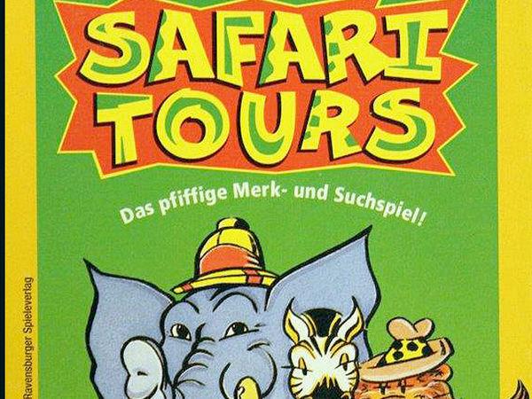 Bild zu Alle Brettspiele-Spiel Safari Tours