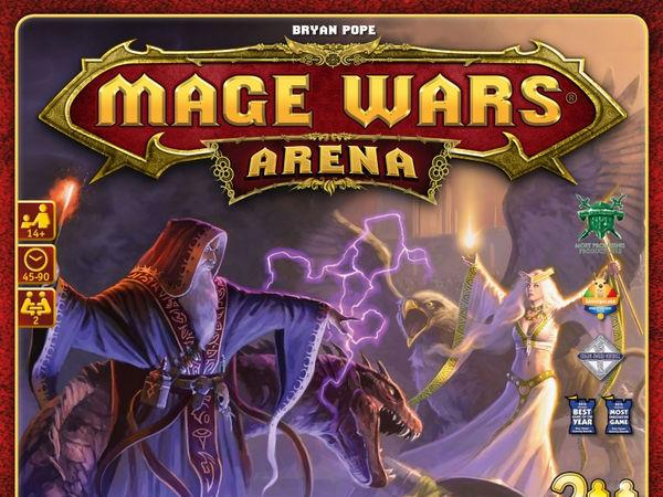 Bild zu Alle Brettspiele-Spiel Mage Wars Arena