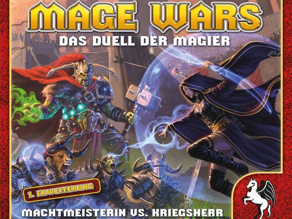 Bild zu Alle Brettspiele-Spiel Mage Wars: Machtmeisterin vs. Kriegsherr