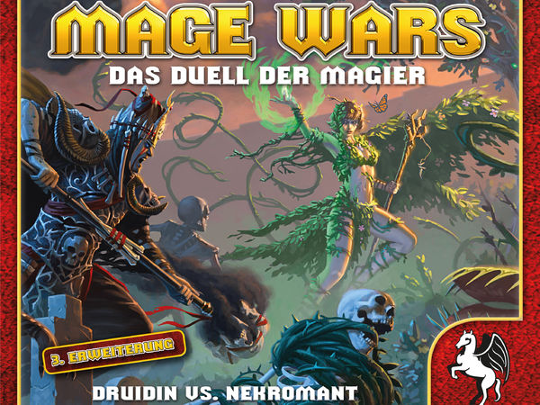 Bild zu Alle Brettspiele-Spiel Mage Wars: Druidin vs. Nekromant