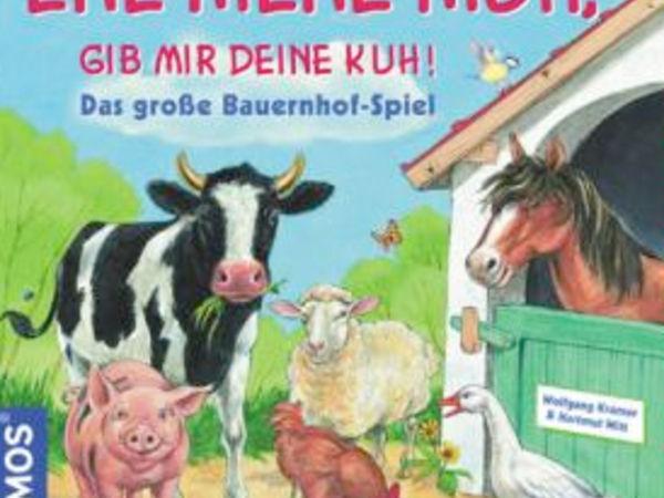 Bild zu Alle Brettspiele-Spiel Ene Mene Muh, gib mir deine Kuh