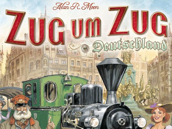 Bild zu Alle Brettspiele-Spiel Zug um Zug: Deutschland