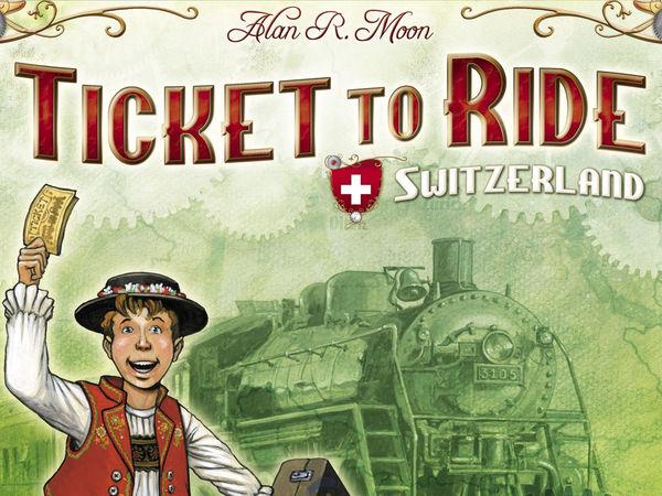 Bild zu Alle Brettspiele-Spiel Zug um Zug: Schweiz