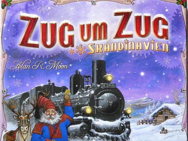 Bild zu Alle Brettspiele-Spiel Zug um Zug: Skandinavien