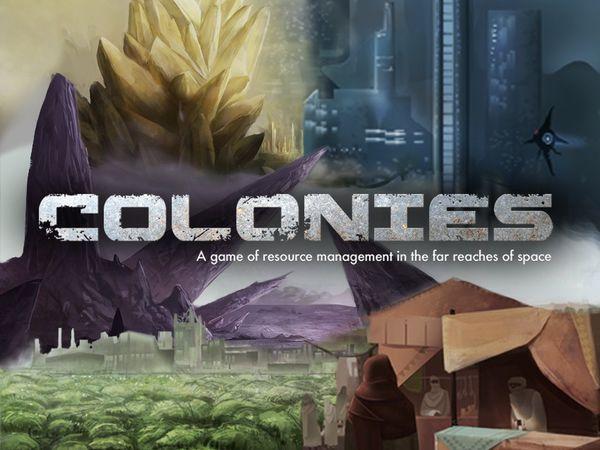 Bild zu Alle Brettspiele-Spiel Colonies