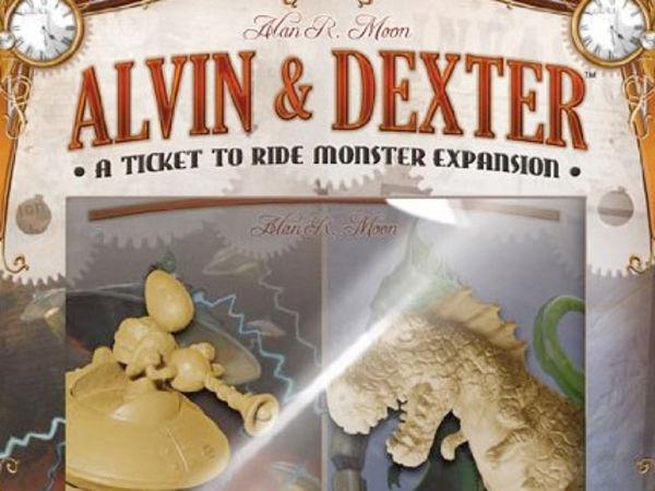 Bild zu Alle Brettspiele-Spiel Zug um Zug: Alvin & Dexter