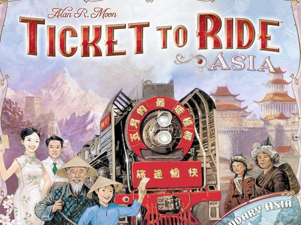 Bild zu Alle Brettspiele-Spiel Zug um Zug: Asien